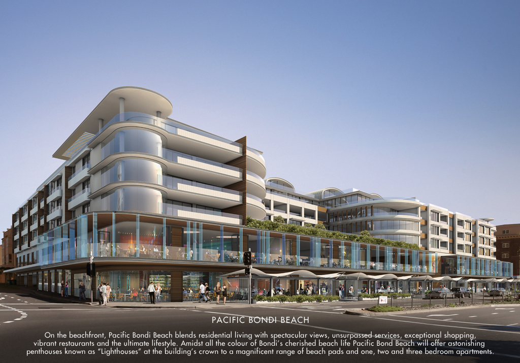 Recently Awarded Projects – The Pacific at Bondi Beach