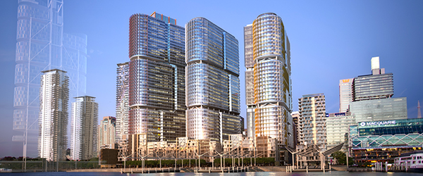Recently Awarded Projects: Barangaroo South project