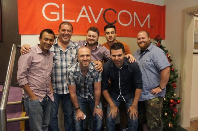 2014 Glavcom Christmas Party 8